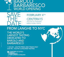 Barolo Barbaresco World Opening